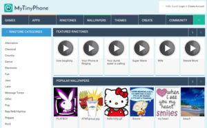 Mytinyphone.com ringtones download