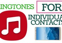 Set Individual Ringtones to Contacts