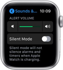 apple watch notification