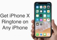 iphone x ringtone download
