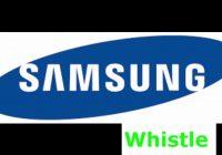 Samsung Whistle Ringtone