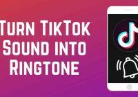 tiktok sound your ringtone